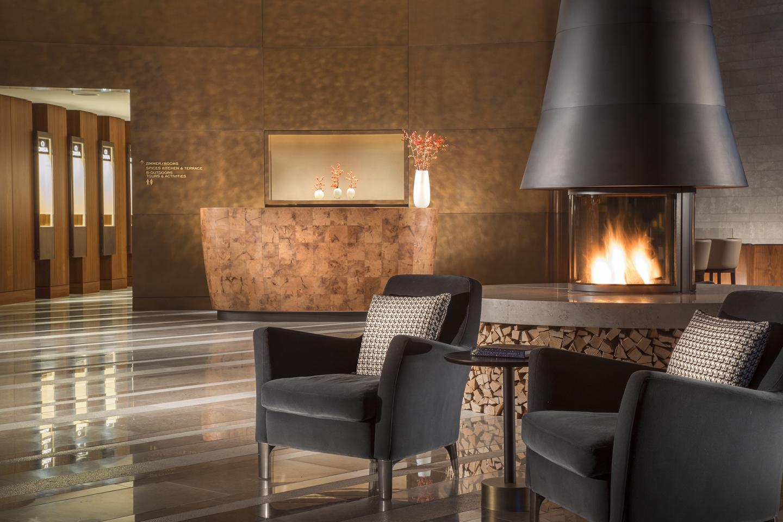 Reception des Bürgenstock Hotels
