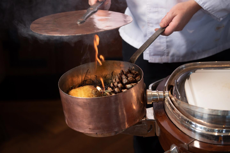 ''RIBELMAIS'' Poulard   Pot Au Feu with its Tortellini