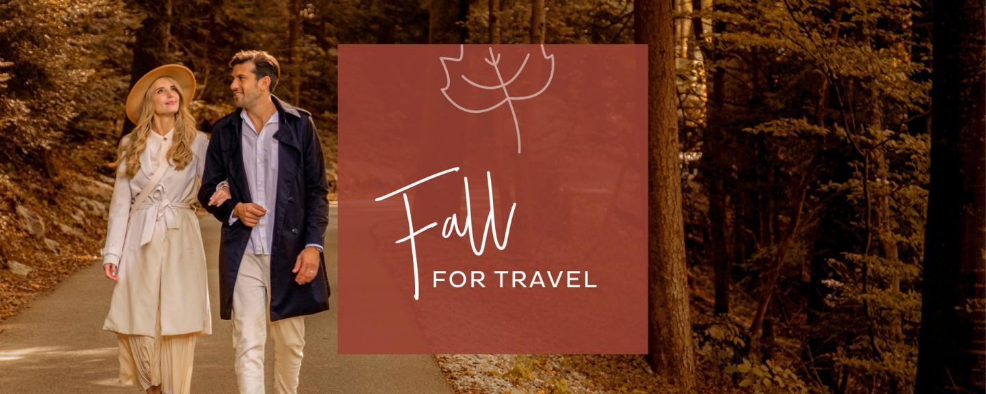 Fall for Travel – Herbstkampagne