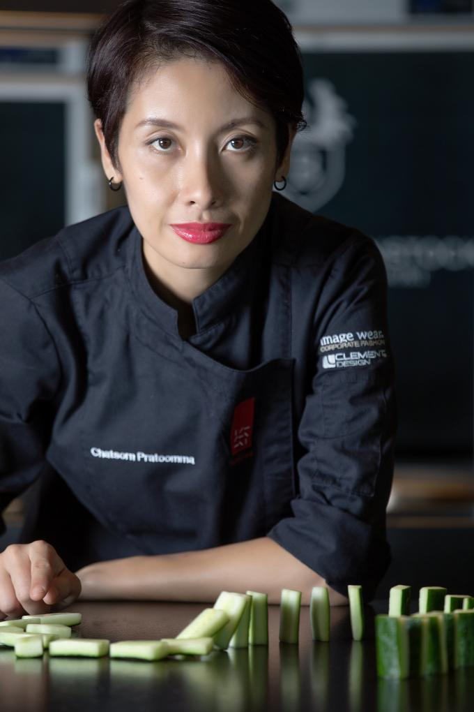 Chef Chatsorn Pratoomma at Spices Kitchen & Terrace